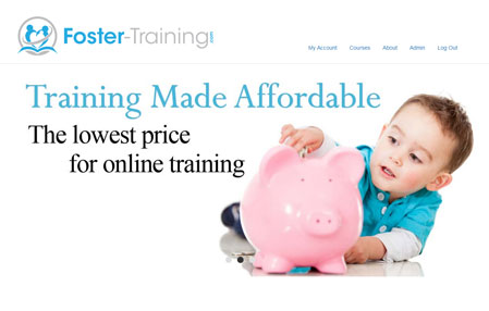 Foster Training website